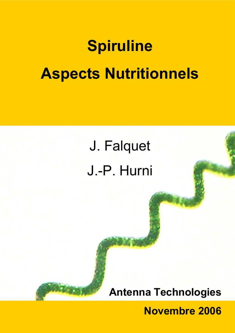 Spiruline Aspects nutritionnels